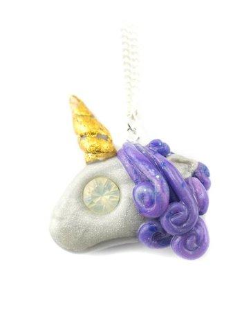"Cute Clay ""The First Unicorn"" - Kette"