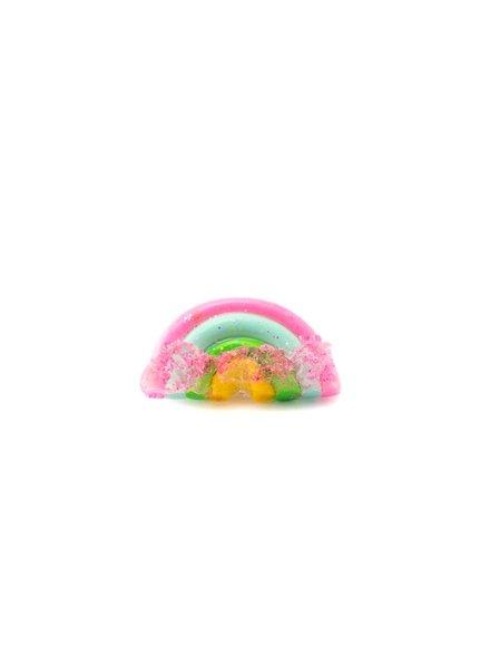 """Cute Clay """"Rainbow with sugar Three""""-Brosche"""