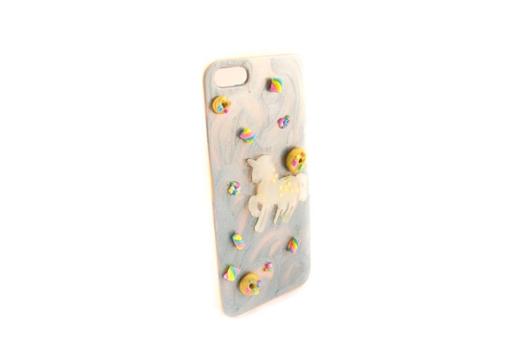 "Cute Clay ""Einhorn pastellorange"" - iPhone 5-Handycover"