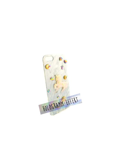 "Cute Clay ""Einhorn pastellgelb"" - iPhone 5-Handycover"