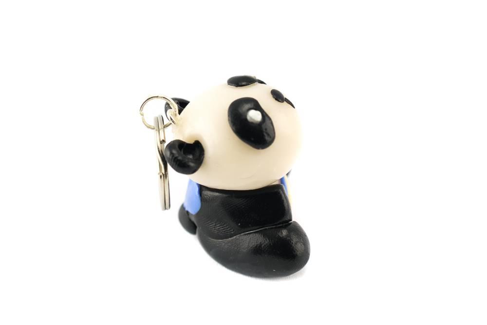 "Cute Clay ""Pandabär""-Schlüsselanhänger"