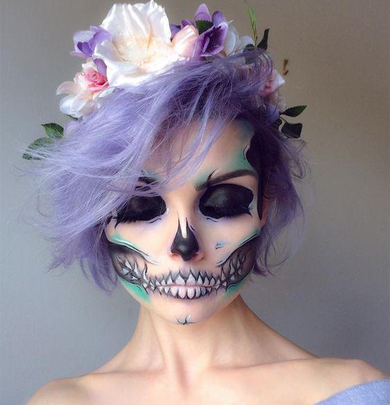 Make up für Halloween