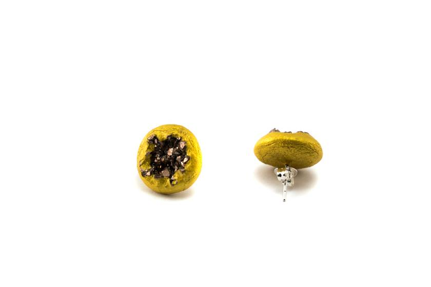 ros gold eiskristall ohrstecker i ohrstecker online kaufen cute clay. Black Bedroom Furniture Sets. Home Design Ideas