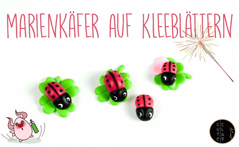 Marienkäfer & Kleeblätter