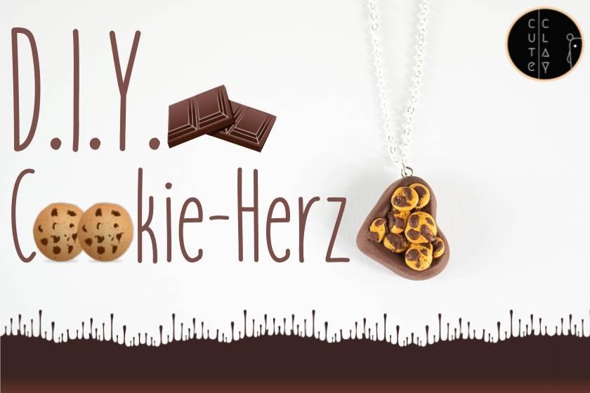 DIY Cookie-Herz-Kette