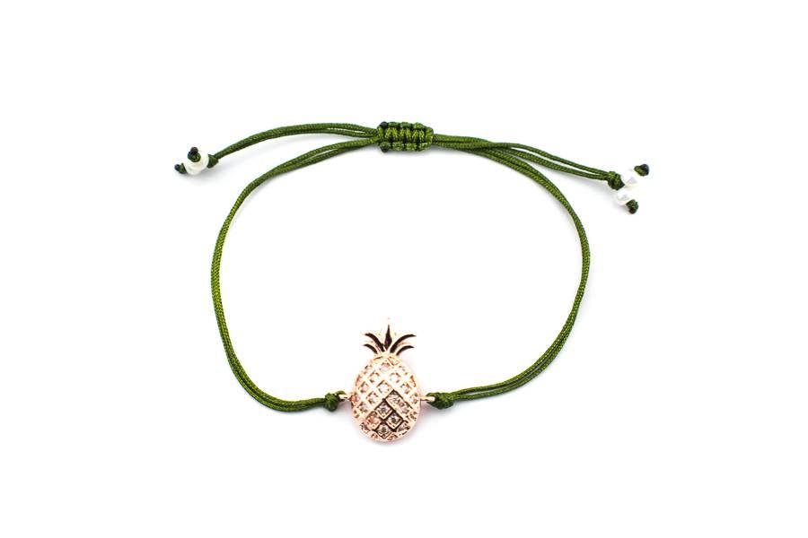 "Cute Clay ""Ananas-Chic""-Armband"