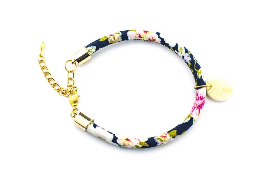 """Cute Clay """"Gold Leave"""" - Armband"""