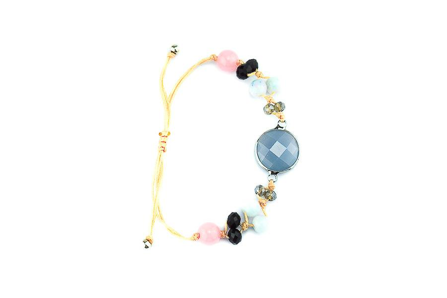 "Cute Clay ""Peach Dream""-Armband"