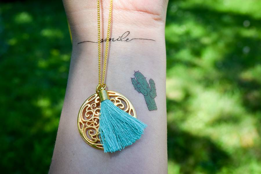 "Cute Clay ""Ethno-Ornament"" -Kette"