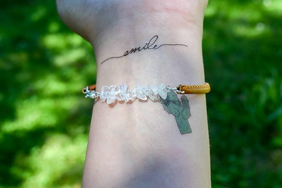 "Cute Clay ""Quarz""-Armband"