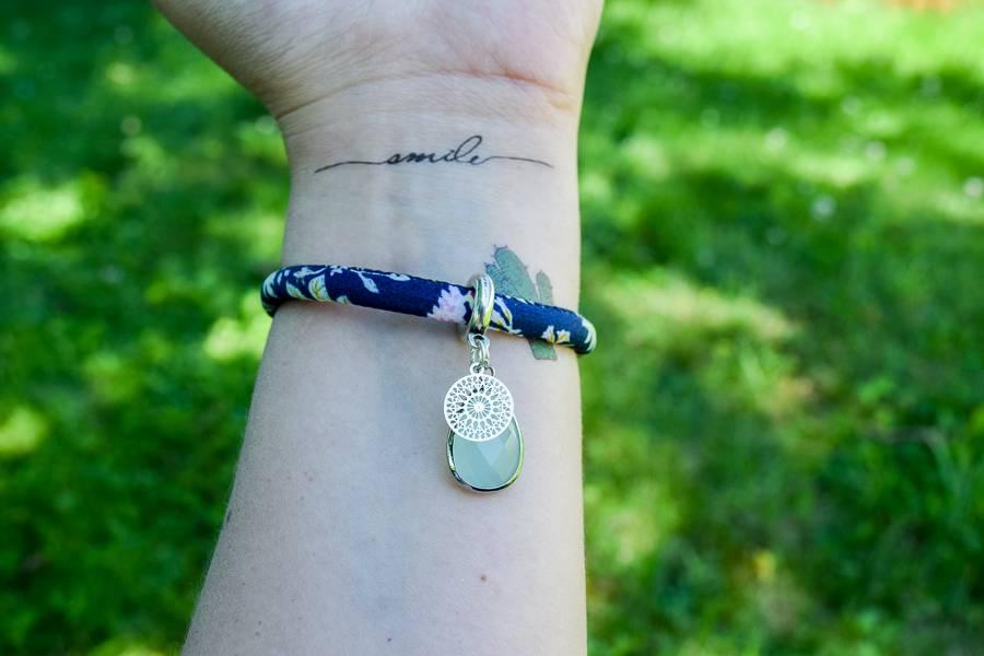 "Cute Clay ""Dark Blue Sensation"" - Armband"