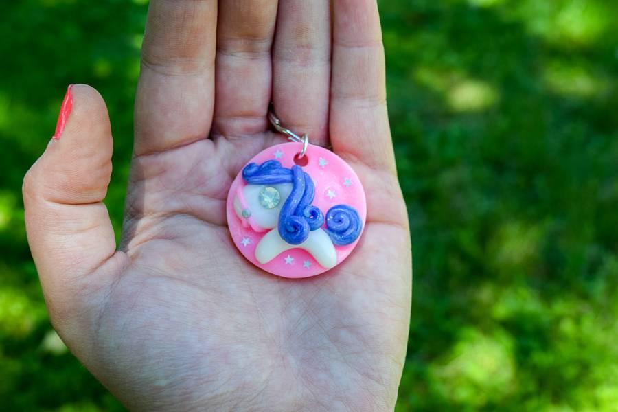 """Cute Clay """"Big Pony"""" - Schlüsselanhänger"""