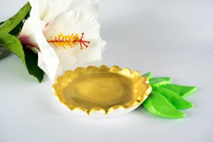 DIY Ananas-Ringschale