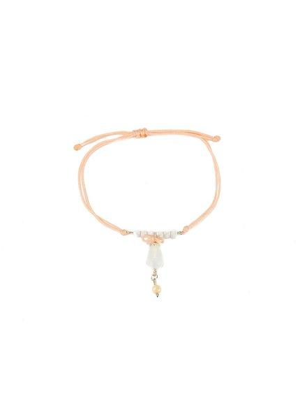"Cute Clay ""Noble peach""-Armband"
