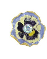 """Cute Clay """"Pansy""""- Ring"""