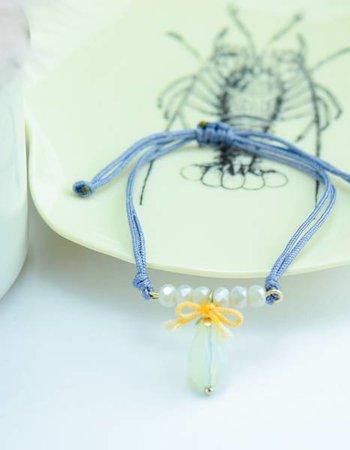 "Cute Clay ""Noble blue""-Armband"