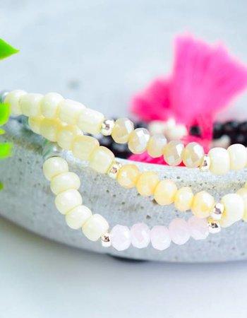 """Cute Clay Set """"Color Gradient""""-3 Armbänder"""