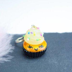 "Cute Clay ""Mrs. Cupcake"" - Schlüsselanhänger"