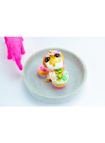 """Cute Clay """"Schoko"""" - Deko-Einhorn"""