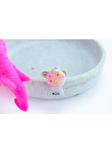 "Cute Clay ""Kaugummi-Automat"" - Ring"