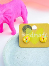 "Cute Clay ""Donuts"" - Ohrstecker"