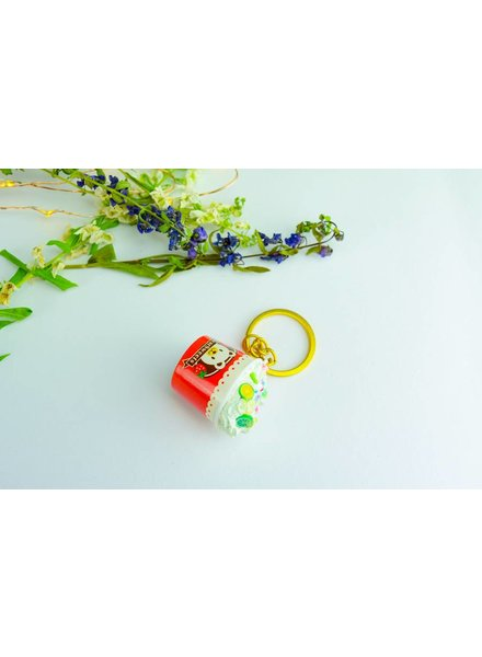 "Cute Clay ""Eiscreme-Becher II"" - Schlüsselanhänger"