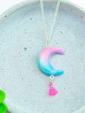 "Cute Clay ""Bohemian Moon"" - Kette"