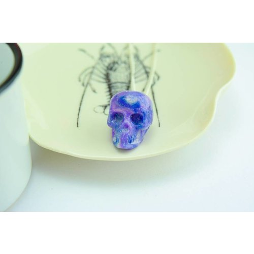 "Cute Clay ""Galaxy-Totenkopf"" - Kette"