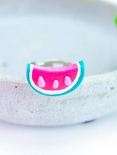 "Cute Clay ""Melon"" - Ring"