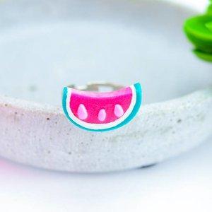 """Cute Clay """"Melon"""" - Ring"""