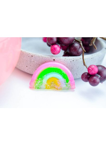 "Cute Clay ""Rainbow with sugar Two""-Brosche"