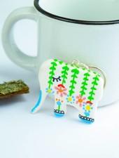 "Cute Clay ""Elefant"" - Schlüsselanhänger"