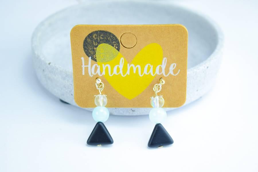 "Cute Clay ""Rain"" - Perlen-Ohrhänger"