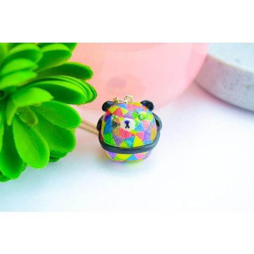 """Cute Clay """"Sumo-Bär"""" - Kette"""
