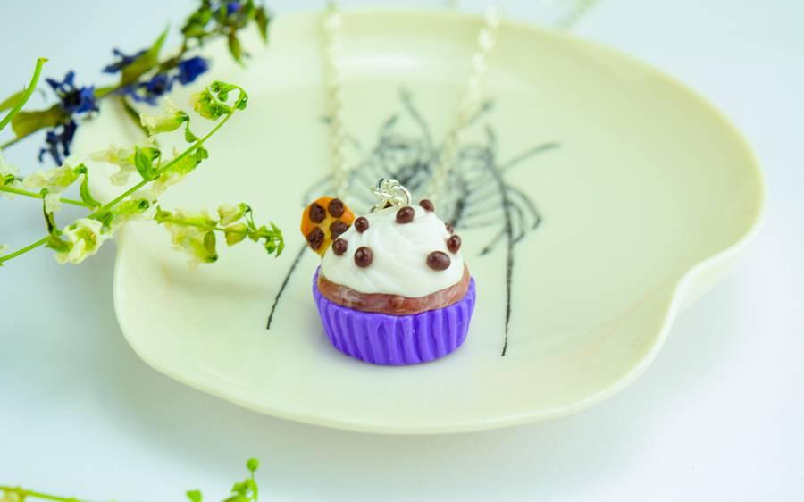 "Cute Clay ""Cookie-Cupcake"" - Kette"