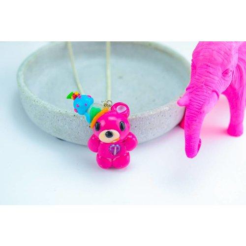 """Cute Clay """"Icecream-Bear"""" - Kette"""