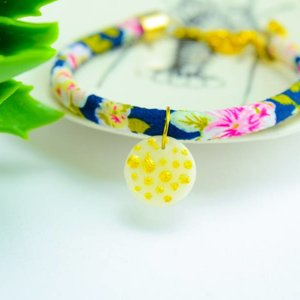 "Cute Clay ""Gold Dots"" - Armband"
