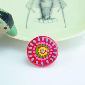 "Cute Clay ""Flower""- Magnet"