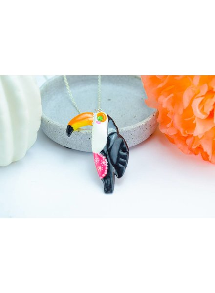 "Cute Clay ""Tucan"" - Kette"