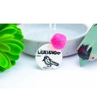 "Cute Clay ""Liebeskind"" - Spruch-Kette"