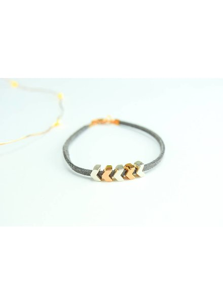 "Cute Clay ""Arrows""-Armband"