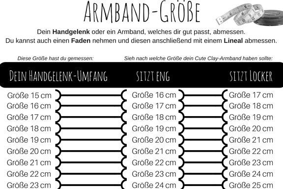 "Cute Clay ""Barcode""-Armband"