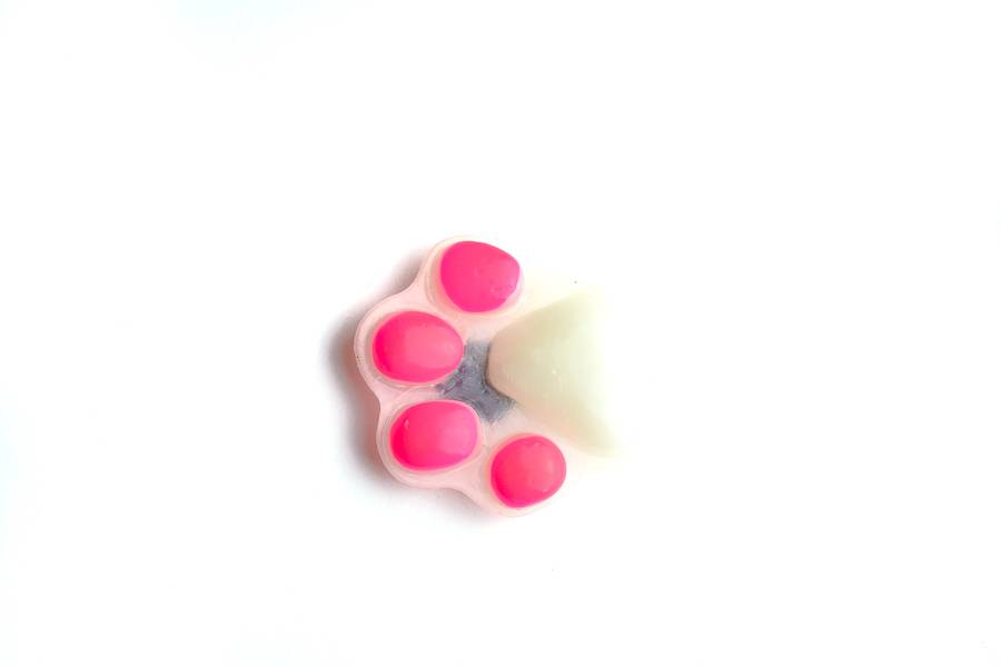 "Cute Clay ""Pfote"" - Magnet"
