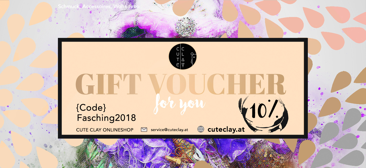10%-Rabatt im Cute Clay Onlineshop