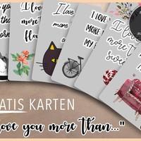 8 gratis Valentinstagskarten