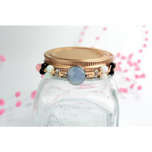 "Cute Clay ""Peach Dream"" - Armband"