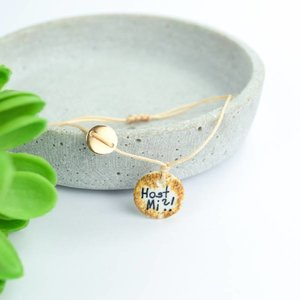 "Cute Clay ""Host Mi?!"" - Spruch-Armband"