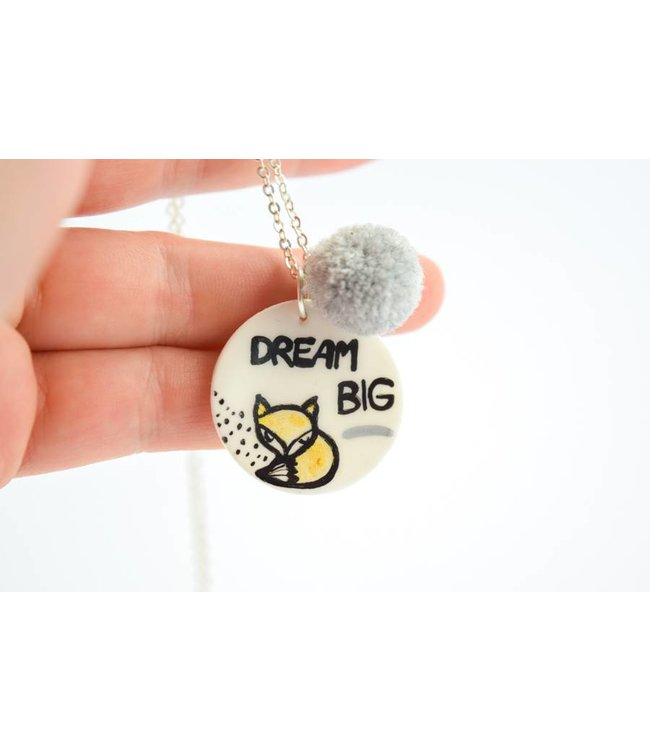 "Cute Clay ""Dream Big"" - Kette"