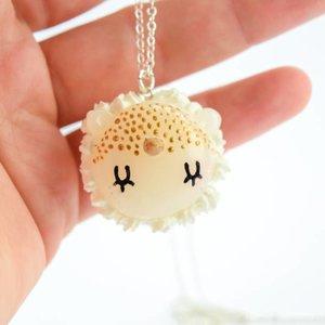 """Cute Clay """"Pünktchen-Einhorn-Macaron"""" - Kette"""