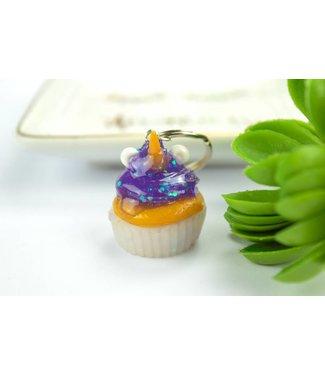 """Cute Clay """"Thermal Farbwechsler Einhorn-Cupcake"""" - Schlüsselanhänger"""